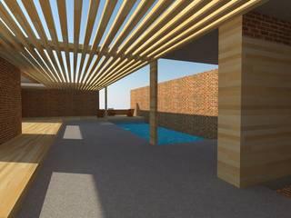 Decks en madera: Piscinas de estilo  por Arquimaderas , Moderno