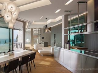 Modern houses by Simon Garcia | arqfoto Modern