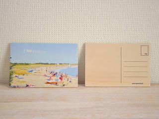 Carte postale - Plages - [ NO ] stalgique:  de style  par Ma cocotte