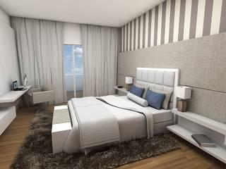 Projeto: Quartos  por Essere Design de Interiores e Arquitetura