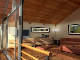 Casa Besares: Livings de estilo  por Claros Escalada Arquitectos y Asociados