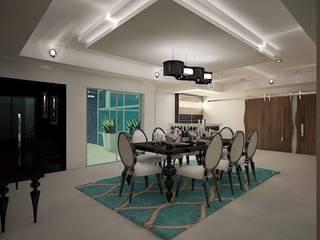 projeto Salas de jantar modernas por Studio BRAVO! Moderno