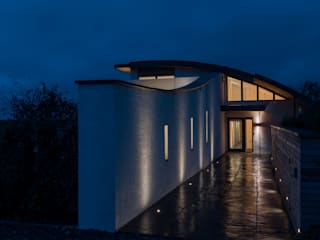 New Contemporary House, Polzeath, Cornwall Дома в стиле модерн от Arco2 Architecture Ltd Модерн