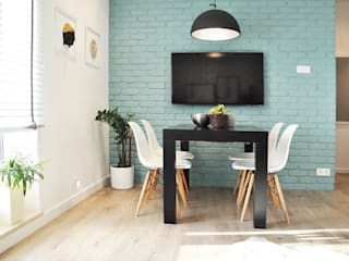Nidus Interiors Dominika Wojciechowska Livings de estilo moderno