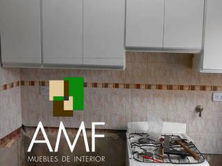 Antes y después COCINA:  de estilo  por amf muebles