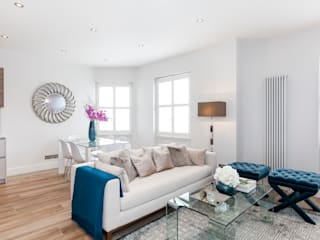 Fulham Penthouse Salon moderne par Yohan May Design Moderne