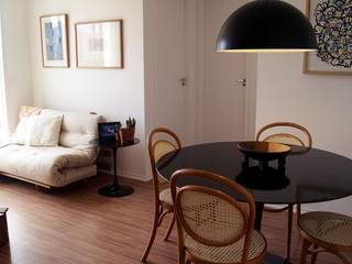 Apartamento Mogi: Salas de jantar  por NAP arquitetura