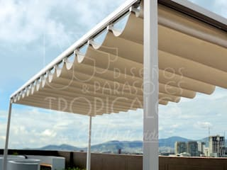 Parasoles Tropicales - Arquitectura Exterior Balconies, verandas & terraces Accessories & decoration