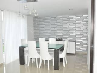Phòng ăn phong cách hiện đại bởi Decoespacios Hiện đại