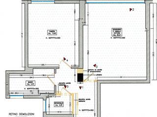 Ristrutturazione di bilocale Contesini Studio & Bottega