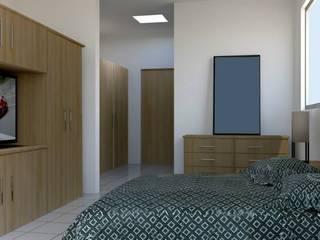Bedroom by visioncreativaarquitectos, Modern