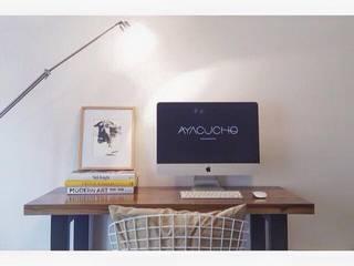 Muebles ambientados: Estudios y oficinas de estilo  por Ayacucho estudio