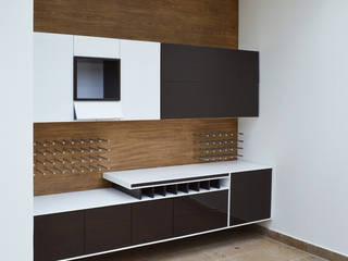 Salones de estilo moderno de SINC Moderno