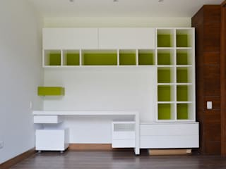 SINC Modern style bedroom Green
