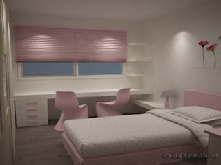 Modern style bedroom by GESTION INTEGRAL DE PROYECTOS DEL NOROESTE S.L. Modern