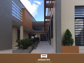 JAC CENTRO POBLADO EL MORRO: Espacios comerciales de estilo  por ARQUETIPO, DISEÑO & ARQUITECTURA SAS, Moderno