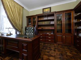 Дом в Сорочанах 2: Рабочие кабинеты в . Автор – Дизайн-студия «ARTof3L»