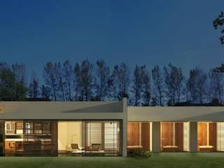 Casa MF: Casas de estilo  por Teje Estudio