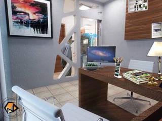 Remodelación consultorio médico, área de consulta: Hospitales de estilo  por Metamorphosis Propuesta de Arquitectura