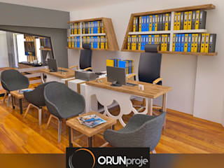 ORUNproje – Mansion Ofis:  tarz Ofis Alanları