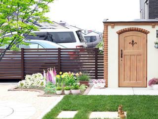 株式会社エクスリーフ 花園植物與花 磚塊 Wood effect