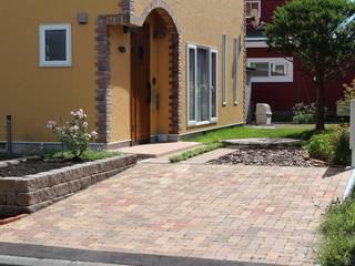 株式会社エクスリーフ 花園植物與花 磚塊 Orange