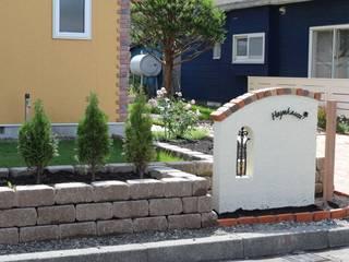 株式会社エクスリーフ 花園植物與花 磚塊 Beige