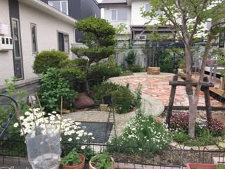 株式会社エクスリーフ 花園泳池與池塘 石器 Pink