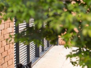 Palos Verde - Alta resolução Varandas, alpendres e terraços modernos por Ximenes Leite Arquitetura Ltda. Moderno