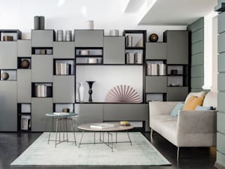 Living room by Mobilificio Marchese, Modern