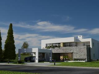 CASA HARAS 3: Casas de estilo  por Muras Oficina de Arquitectura,