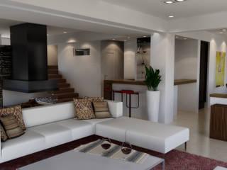CASA HARAS 3: Livings de estilo  por Muras Oficina de Arquitectura,
