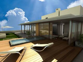 EDIFICIO DORREGO MKT: Spa de estilo  por Muras Oficina de Arquitectura,