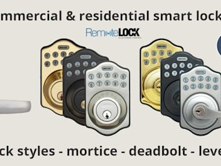 Remotelock 6i WiFi enabled smart lock: modern  by Smarterhome (UK) Ltd, Modern