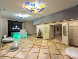 """ЖК """" Лотос """" Холл Гостиницы в стиле модерн от Дорогой Дом Модерн"""