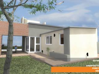 CASA BG: Casas de estilo mediterraneo por Estudio de Arquitectura Pereyra Kohli