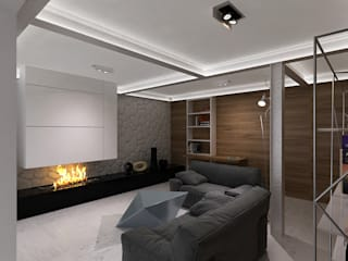 Living room by A-partmentdesign studio,