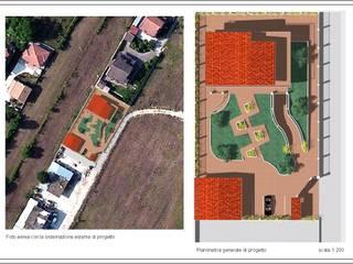 villino con giardino Giardino classico di Studio Tecnico Atorino Classico
