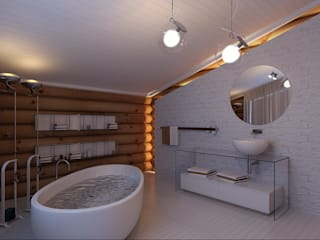 Bathroom by A-partmentdesign studio,