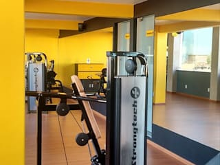 Bau-Art Taller de Arquitectura Ruang Fitness