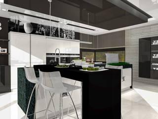trochę jazzu: styl , w kategorii Kuchnia zaprojektowany przez Justyna Kurtz