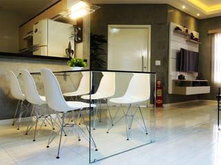 Alkaa Arquitetos Associados Modern living room