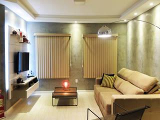 Alkaa Arquitetos Associados Livings de estilo moderno