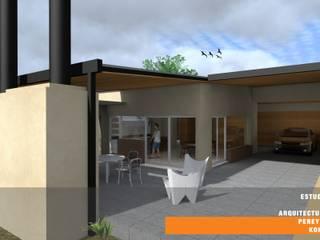 CASA GP: Casas de estilo minimalista por Estudio de Arquitectura Pereyra Kohli