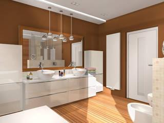 Domowe SPA: styl , w kategorii Spa zaprojektowany przez Justyna Kurtz