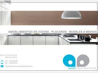 by Aurea Arquitectura y Amoblamientos