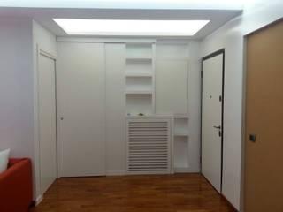 Interior design: Soggiorno in stile  di Architetto Termografo  Massimiliano Aguilera