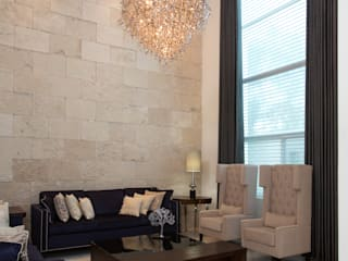 Modern living room by Grupo Arsciniest Modern Stone