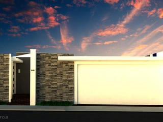 House Mundos Paralelos Casas modernas de GT-R Arquitectos Moderno