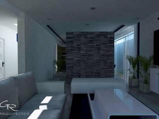 Salas de estar modernas por GT-R Arquitectos Moderno